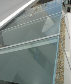 EnduroShield has been applied to this glass roof in Paddington, Sydney