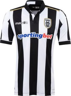 The new PAOK 2016-17 home, away and third kits are made by Macron and introduce bespoke, individual designs for the club.
