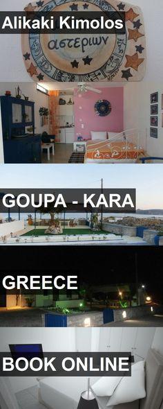 Hotel Alikaki Kimolos in Goupa - Kara, Greece. For more information, photos, reviews and best prices please follow the link. #Greece #Goupa-Kara #travel #vacation #hotel