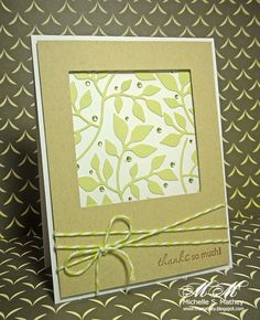 Pigment of My Imagination: CFC29, LIM43 - Sizzix leaves by Michelle Mathey