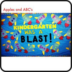 Apples and ABC's: End of the Year Bulletin Board Ideas