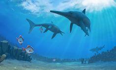 """La misteriosa extinción de los """"T-Rex marinos"""", por fin resuelta. 08/03/16"""