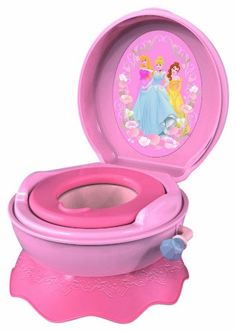 Disney Princess Magical Sounds Potty - Babies R Us - Britain's greatest toy store Toilet Training, Potty Training, Little Girl Princess Dresses, Kids Toilet, Toddler Toilet, Potty Chair, Potty Seat, Baby Doll Accessories, Shops
