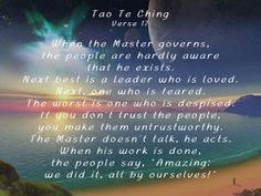 Tao Te Ching 17