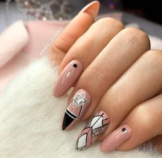30 simple and amazing gel nail designs for summer 11 Matte Pink Nails, Blue Acrylic Nails, Gel Nails, Glitter Nails, Coffin Nails, Dope Nails, Swag Nails, Stylish Nails, Trendy Nails