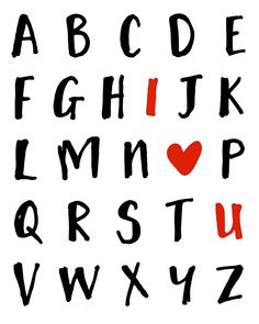 26 LETTERS IN THE ALPHABET AND I LOVE U - Valentines Day Love Quote -  You probably looked at the alphabet a million times but you had never noticed that I LOVE U! If you look at it with the purest heart you will see that I love you. A cute way to tell someone that you love them.  alphabet love relationship boyfriend girlfriend valentine valentines day heart quote typography cute hipster