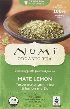 NUMI TEA GRN TEAOG2MATE LEMON 18 BAG *** See this great product. (This is an affiliate link and I receive a commission for the sales)