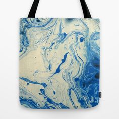 Blue Marble tote by j3productions on Society6