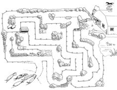 Several cute horse mazes for horse week