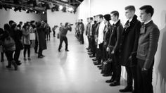 Backstage at Kent and Curwin. LCM AW14