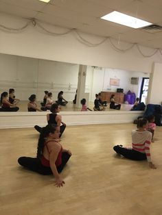 Master Class with Michelle Bruckner at The Ballet Center, Ronkonkoma, NY