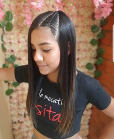 Hair Beauty, Hair Styles, Womens Fashion, Anime, Up Dos, Frases, Vestidos, Hairstyles For Natural Hair, Hair Coloring