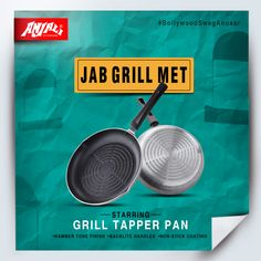 Don't grill your life, grill your food. To make your kitchen experience exciting, we bring to you our superstar: Grill Taper Pan