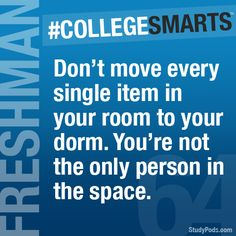 Thanks to @sinktothebottomofthesea for this tip! Send us your college advice and we will make it into a tip!  http://sinktothebottomofthesea.tumblr.com/ - College Smarts