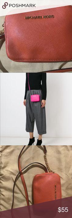 Orange, Michael Kors Crossbody Purse Michael Kors Crossbody Purse. Brand new, never worn. Michael Kors Bags Crossbody Bags