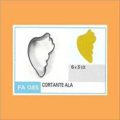 Categoría: Cortantes Metalicos Galletas - Producto: Cortante Metal Ala De Angel - Fa085 - Envase: Unidad - Presentación: X Unid. - Marca: Flogus