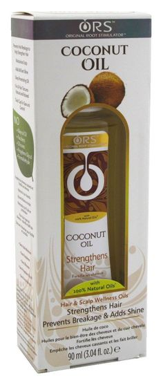Ors Coconut Oil 3.04oz Strengthens Hair (3 Pack) -- Want additional info? Click on the image.