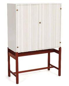 Pure white cabinet d