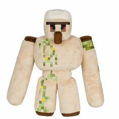 2016 NUEVA Figura de Acción Juguetes 36 CM Minecraft Minecraft Felpa Golem de Hierro espada Piqueta Cama De Piedra Modelo de Caja de Juguetes Para Niños Juguetes De Regalo