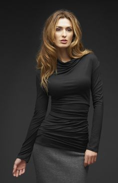 FUNNEL NECK TOP FROM TRYBE