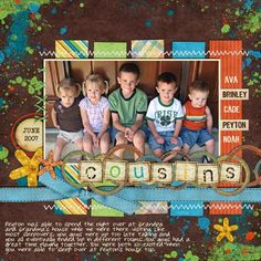 1000+ images about Family reunion layouts on Pinterest | Cousins ...