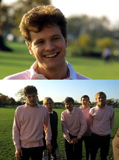 Colin Firth is the most adorable thing ever. Look at that face. Love.