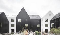"COBE designs a tiny light-filled ""village"" for children in Copenhagen | Inhabitat - Green Design, Innovation, Architecture, Green Building"