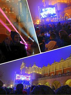#lightshow #mainsquare #newyearseve // Remembering: Happy New Year 2014!   The Home Of The Twisted Red LadyBug