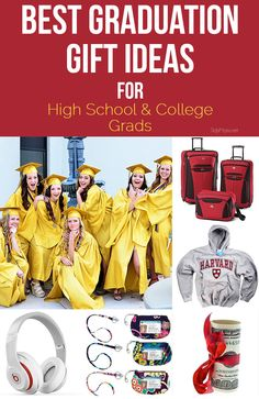 Graduation season is fast approaching, bringing with it graduation parties. Sometimes it's hard to pick a graduation gift that is both useful and something they want. Below are some ideas for fail proof. High School Graduation Gifts, Graduation 2016, Grad Gifts, Graduation Ideas, Graduation Crafts, Diy Gifts, College Years, College Life, Graduation Parties