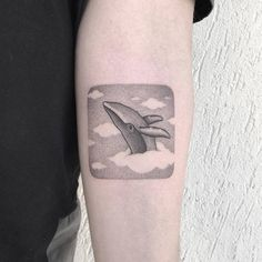 By Michele Volpi · mfox, done at Venom Art Tattoo, Rapagnano. Ocean Tattoos, Whale Tattoos, Animal Tattoos, Cool Arm Tattoos, Sexy Tattoos, Venom Art, Cloud Tattoo, Temporary Tattoo Designs, Tattoo Script