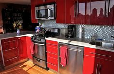 Attractive Painted Kitchen Cabinets Come with the Great Idea