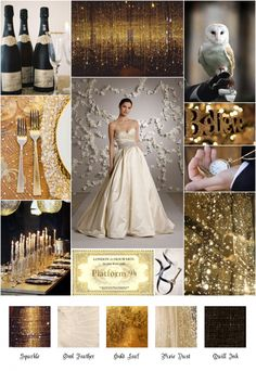 I Made Some More Inspiration Boards for Your Viewing Pleasure!! Whatcha Think? : wedding inspiration boards My Harry Potter Inspiration Board 2