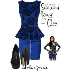 Santana Lopez - Glee