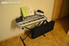 PACK PIANO CASIO LK-110, SOPORTE Y MAS!! - 150 Rivas Vaciamadrid