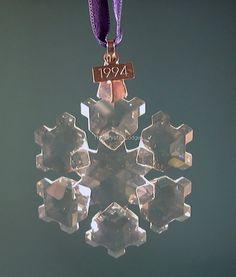1994 Swarovski Christmas Ornament
