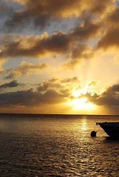 Sunset over Little Bay, Anguilla ~ Take Memories and Leave Footprints