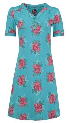 Dress Fanny Les Fleurs Blue