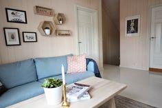 Light blue sofa, living room, cactus, brass Light Blue Sofa, Cactus, Brass, Couch, Living Room, Furniture, Home Decor, Rome, Prickly Pear Cactus