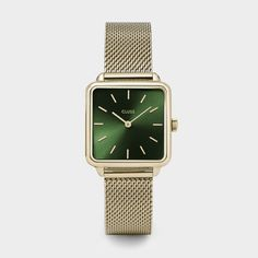 Buy Rose Gold/White CLUSE Women's La Garconne Square Mesh Bracelet Strap Watch from our Women's Watches range at John Lewis & Partners. Minimalist Bag, Minimalist Design, Mesh Armband, Clusia, Kooples, Jewelry Clasps, Jewlery, Mesh Bracelet, Luxury Watches