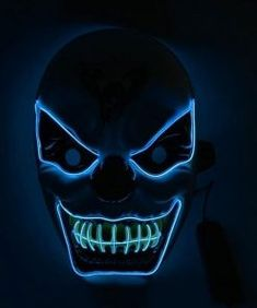 2018 Scary Ghost Rider Flame Skull Full Face Mask For Cosplay Halloween Party