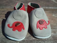 Grace & Elie Baby shoes:Sahara Grey