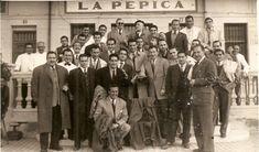 Comida de equipo, 1949.