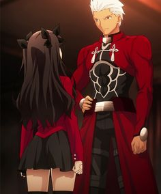 Rin Tohsaka & Archer Emiya - Fate/Stay Night - Unlimited Blade Works - Heaven's Feel - Fate/Hollow Ataraxia - Fate/Extra - Fate/Extra CCC