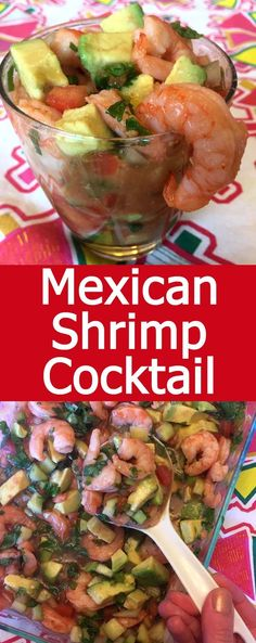 This authentic Mexican shrimp cocktail is amazing! So full of flavor, it's truly mouthwatering! This authentic Mexican shrimp cocktail is amazing! So full of flavor, it's truly mouthwatering! Authentic Mexican Recipes, Mexican Shrimp Recipes, Mexican Appetizers, Seafood Recipes, Dinner Recipes, Cooking Recipes, Mexican Snacks, Mexican Drinks, Mexican Desserts