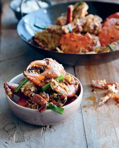 Wok-tossed mud crab by Luke Nguyen from The Food of Vietnam | Cooked