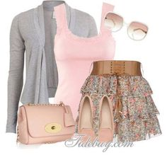 Would you wear this dressy outfit?