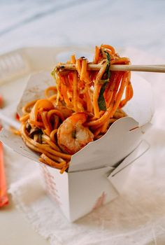 Shrimp Lo Mein is an easy dish to make at home and tastes just as good as any restaurant version. You can even prepare all of the ingredients ahead of time for an easy weeknight meal.I've always found that cookingis a great way to unwind from astressful day of work, have a nice meal, pack …