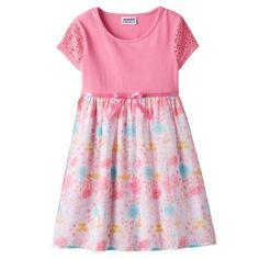 Girls 4-6x Blueberi Boulevard Crochet Chiffon Dress  - Brought to you by Avarsha.com