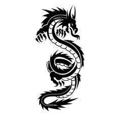 Dragon tattoo.