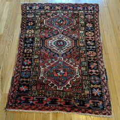 Antique Persian Rug Red Black Carpet Pattern iphone 11 case